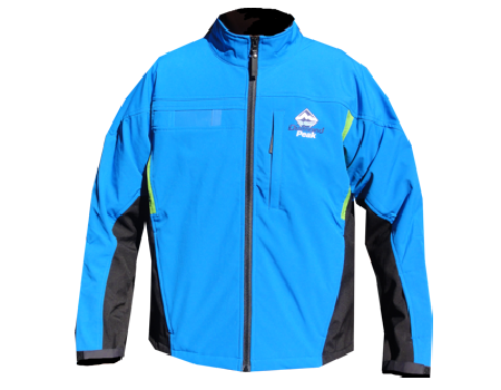 Crystal Peak Softshell Jacket (Diamond Peak) – Lake Blue