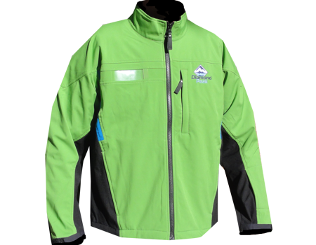 Crystal Peak Softshell Jacket (Diamond Peak) – New-Leaf Green