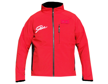 Dolomite Softshell Jacket (Stowe) – Cherry Red