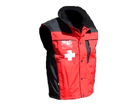10–20 Patrol Vest – Red/Black