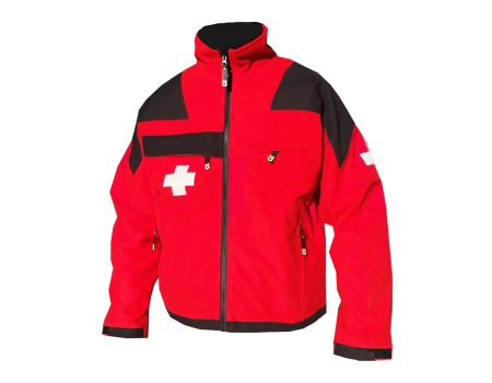 Patrol MicroFleece – Red/Black
