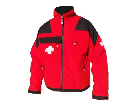 Patrol MicroFleece – Red/Black