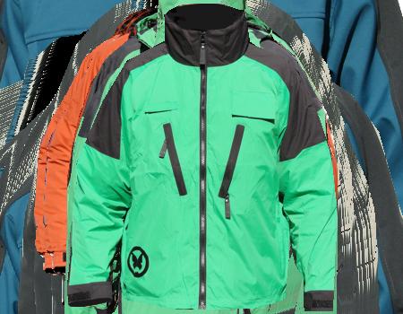 Windshell (Monarch)  –  Green/Blk