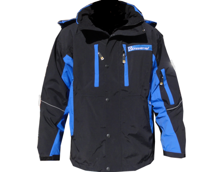 Dolomite Jacket (Doppelmayer)  –  Black/Blue