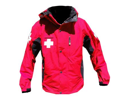 Dolomite Patrol Jacket (Stowe, Holimont, etc)  –  Red/Black