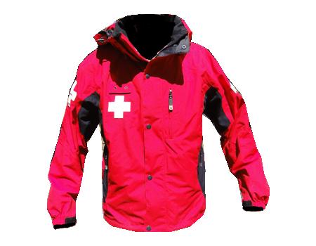 Dolomite Patrol Jacket (Stowe, Holimont, etc)  –  Red/Black