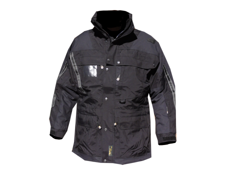 Isotherm Ops Jacket, Long – Blk/Blk
