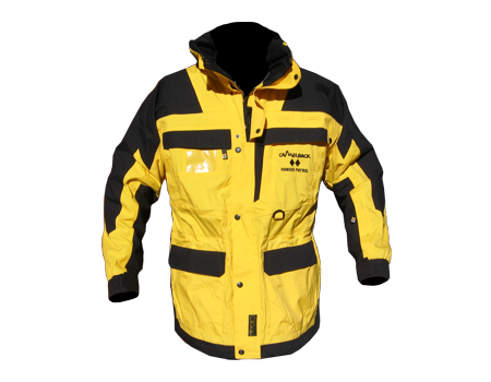 Isotherm Ops Jacket, Long (Camelback)  –  Yellow/Black