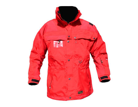 Isotherm Ops Jacket, Long – Red/Red
