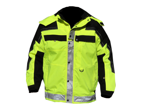 Isotherm 3-Season Jacket – Safety Yellow