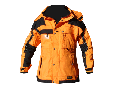 Isotherm Ops Jacket, Long – Tangerine