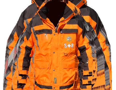 Isotherm Ops Jacket (Yuba County Sheriff)  –  Tangerine
