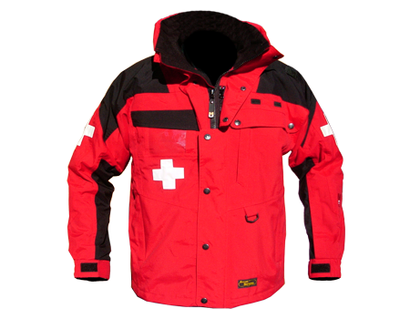 Standard Patrol Jacket, Mid – Red/Black