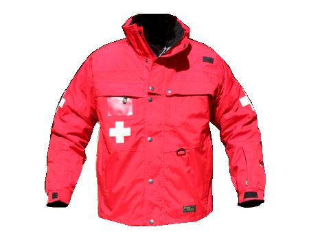 Standard Patrol Jacket, Mid – Red/Red