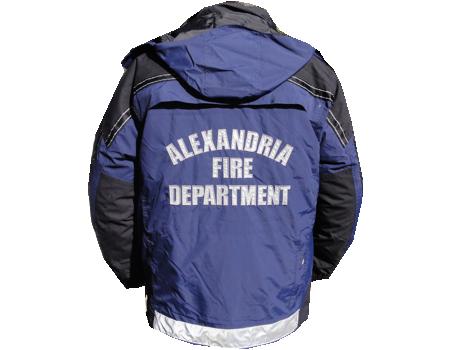 Ambulance Jacket Back