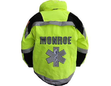 Isotherm 3-Season Jacket (Monroe Ambulance)  –  Safety Yellow
