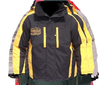 Colusa Jacket (Greek Peak)  –  Blk/Yellow