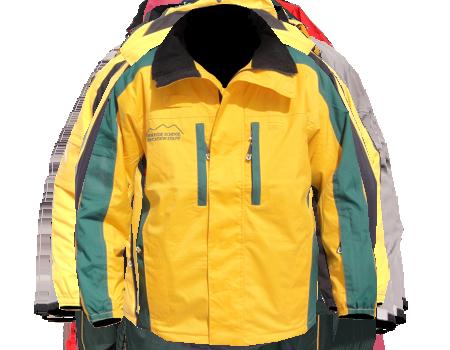 Colusa Jacket (Greek Peak)  –  Yellow/Green