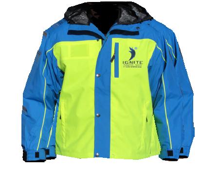 Yukon Jacket (Ignite Adapative Sports) – Safety Yellow/Tahoe Blue