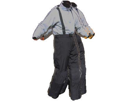 Full Side Zip Pants #007 – Black