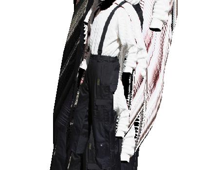 Cargo Pants #008 – Black