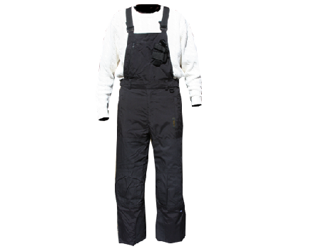 Tech Utility Bib Pants #009 – Black