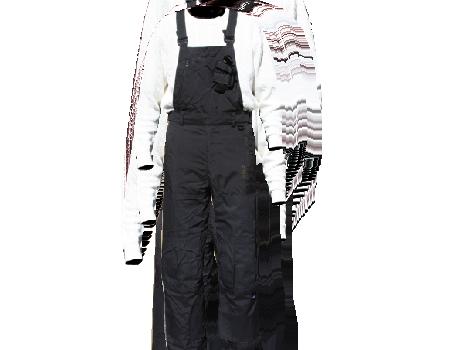 Tech Utility Bib Pants #009 – Black