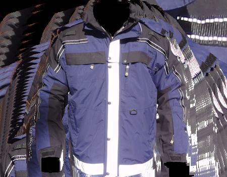 Isotherm 3-Season Jacket (Alexandria Fire)  –  Blue