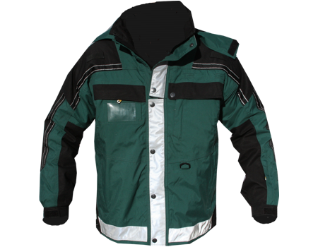 Isotherm 3-Season Jacket (Beacon Ambulance)  –  Hunter Grn/Black