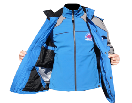 Fusion Jacket Set (Mt. Rose)  – Tahoe Blue