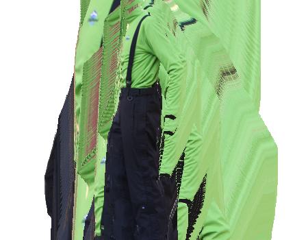 Full Side-Zip Pants #007 – Black