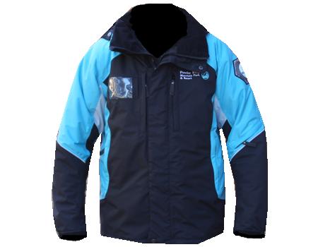 Dolomite Jacket (Powder Ridge) – Blk/Aqua