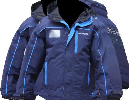 Yukon Jacket (Berkshire East) – Navy/Tahoe Blue