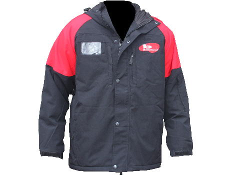 Blaster Jacket (Ski Butternut) – Black/Red