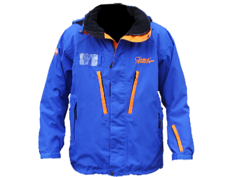Dolomite Jacket (Chestnut) – Dopplemayr Blue/Orange