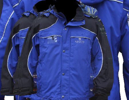 Fusion Jacket (Crystal Mountain) – Royal/Black