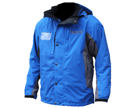 Dolomite Jacket (June Mountain) – Tahoe Blue/Seal Grey