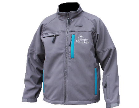 Blaster Softshell Jacket (Liberty) – Seal Grey/Teal