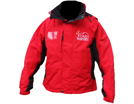 Dolomite Jacket (Steamboat Stars Adaptive) – Cherry Red/Black