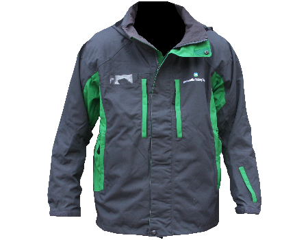Dolomite Jacket (Waterville Valley) Charcoal/Kelly Green