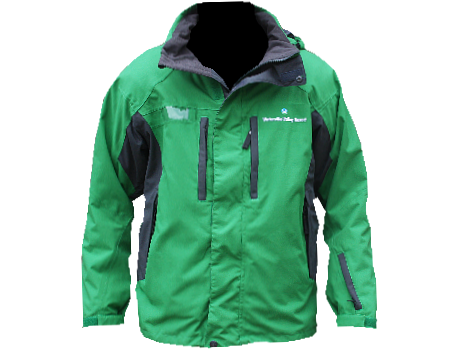 Dolomite Jacket (Waterville Valley) Kelly Green/Charcoal