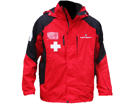 Dolomite Patrol Jacket (Waterville Valley) – Red/Black