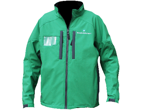 Dolomite Softshell Jacket (Waterville Valley)Kelly Green/Charcoal
