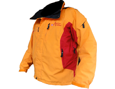 Dolomite Jacket (Alpine Valley) Tangerine/Cherry Red