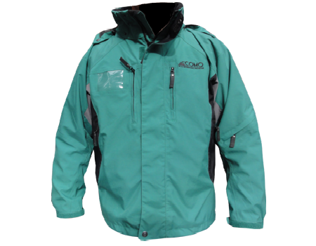 Dolomite Jacket (Como Park) Emerald/Black/Seal Grey