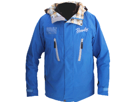 Dolomite Jacket (Bromley) – Lake Blue/Plaid