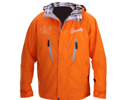 Dolomite Jacket (Bromley) – Tangerine/Plaid