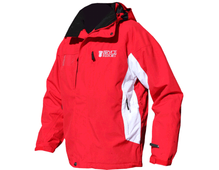 Dolomite Jacket (Bryce) – Red/White