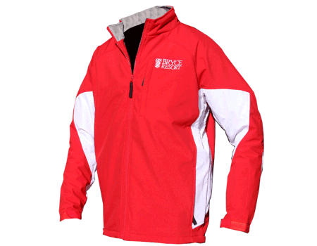 Dolomite Softshell (Bryce) – Red/White