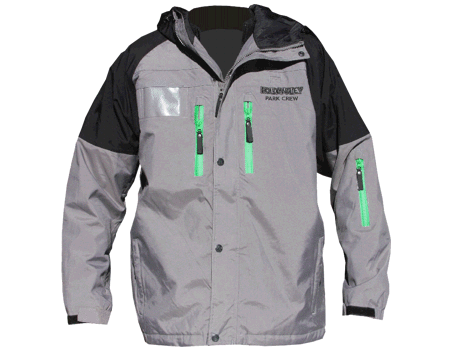 Blaster Jacket (Holiday Valley) – Grey/Black